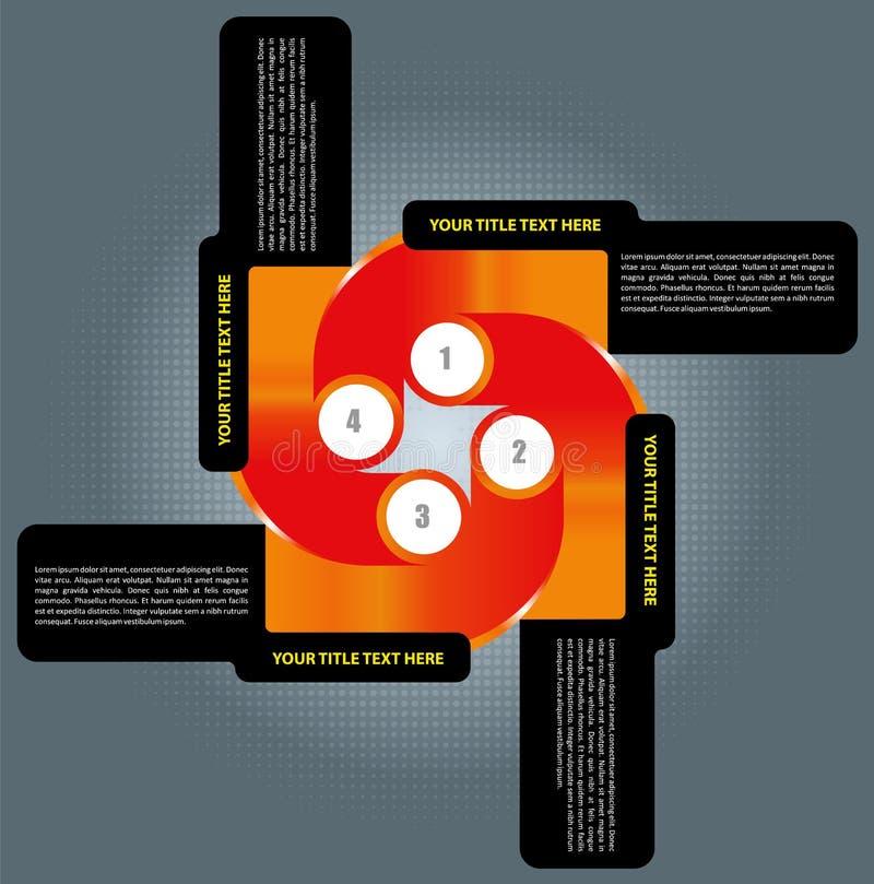 Bakgrund för vektorkorsplan vektor illustrationer