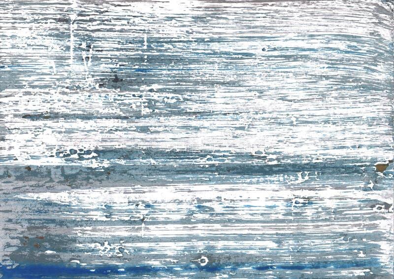 Bakgrund för Weldon Blue abstrakt begreppvattenfärg royaltyfria bilder