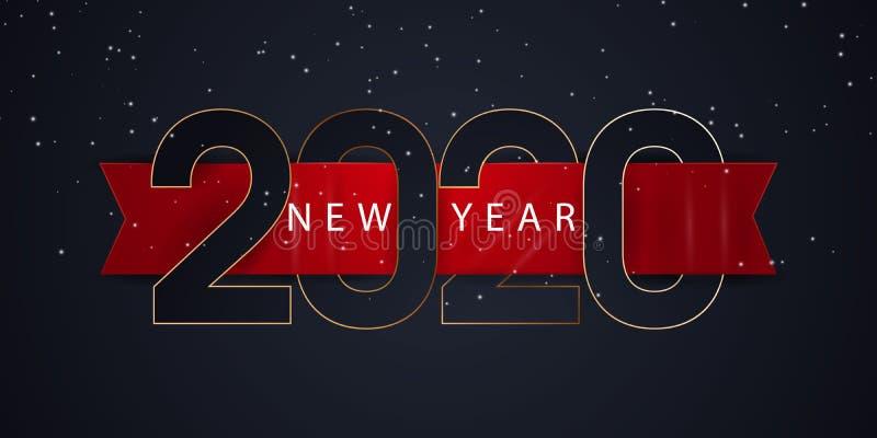 2020 bakgrund f?r lyckligt nytt ?r f?r dina s?songsbetonade themed inbjudningar f?r reklamblad och f?r f?r h?lsningskort eller ju vektor illustrationer