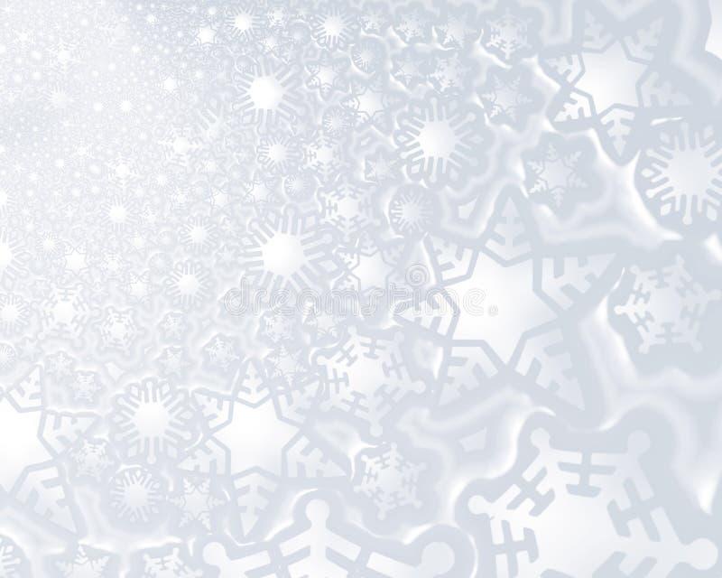 bakgrund fejkar snow stock illustrationer