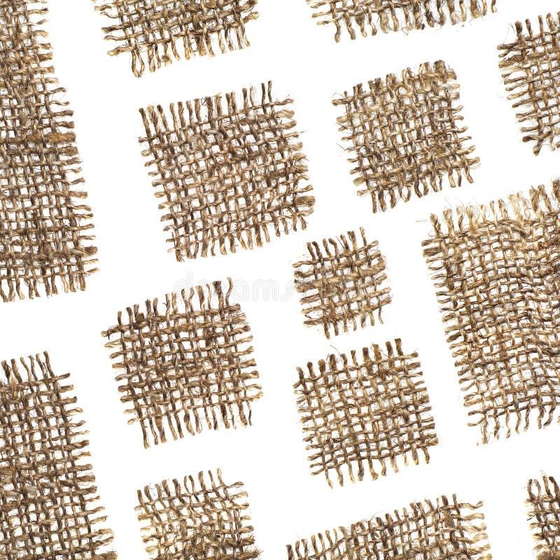 Bakgrund från lappar av tyg arkivbild