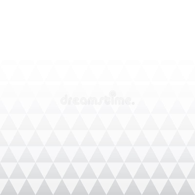 Bakgrund från lutningtrianglar vektor illustrationer