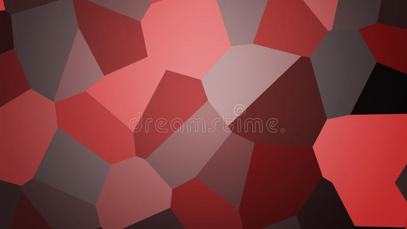 Bakgrund från polygoner stock illustrationer