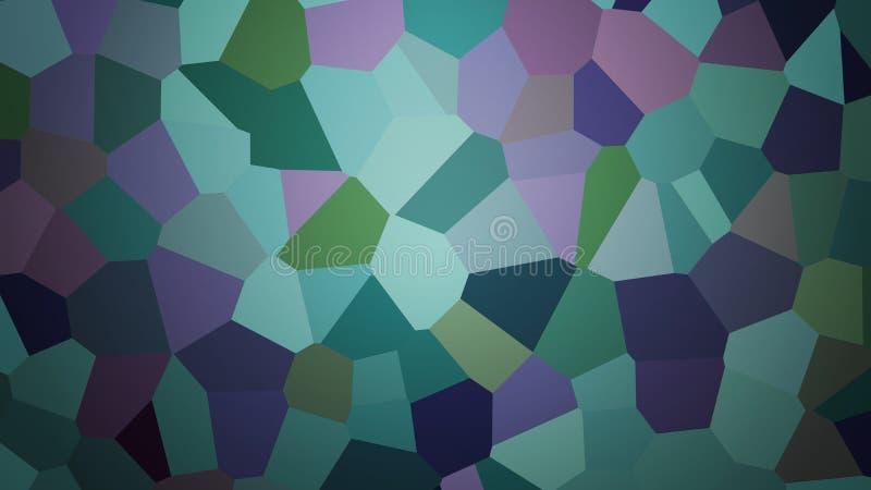 Bakgrund från polygoner royaltyfri illustrationer