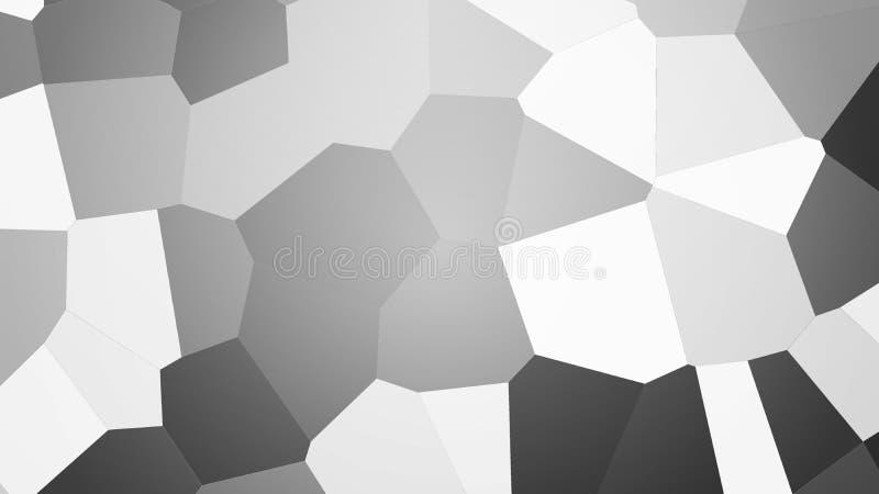 Bakgrund från polygoner vektor illustrationer