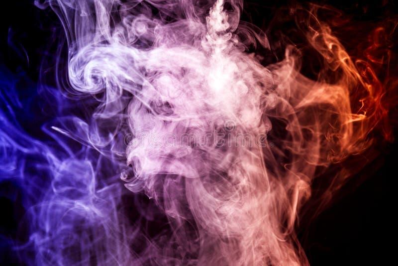 Bakgrund från röken av vape royaltyfri bild