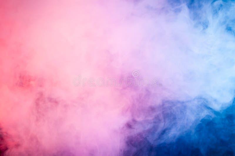 Bakgrund från röken av vape royaltyfria foton
