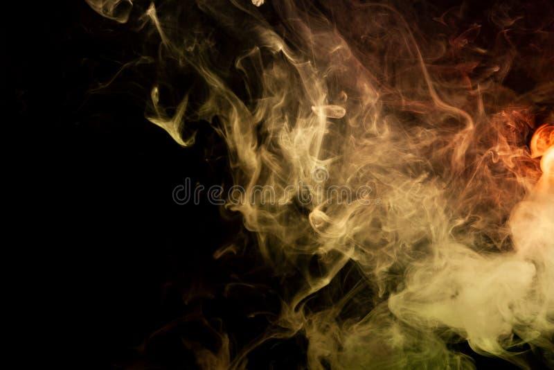 Bakgrund från röken av vape vektor illustrationer