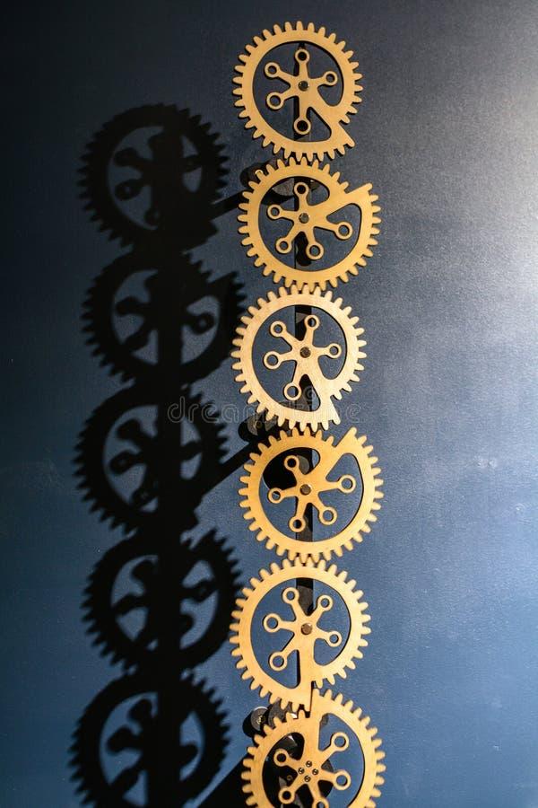 bakgrund gears industriellt Industriell metallbakgrund med si royaltyfri fotografi