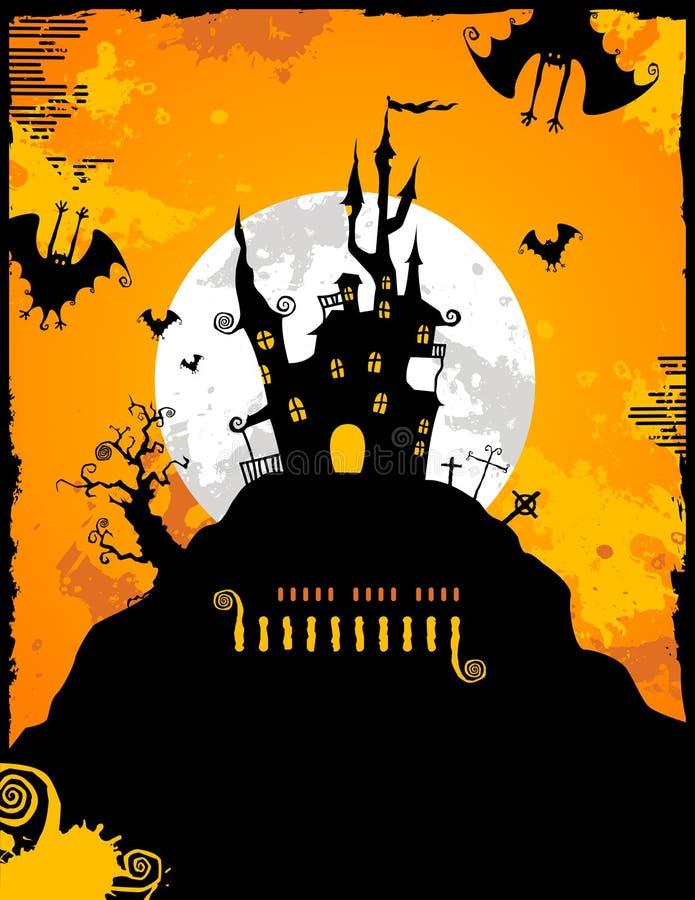 bakgrund halloween vektor illustrationer