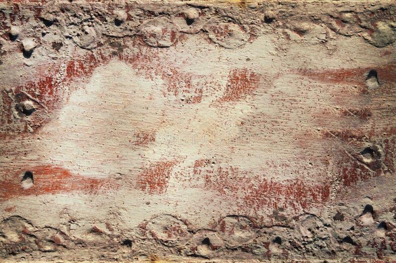 bakgrund i lager det gammala röda arket royaltyfri bild