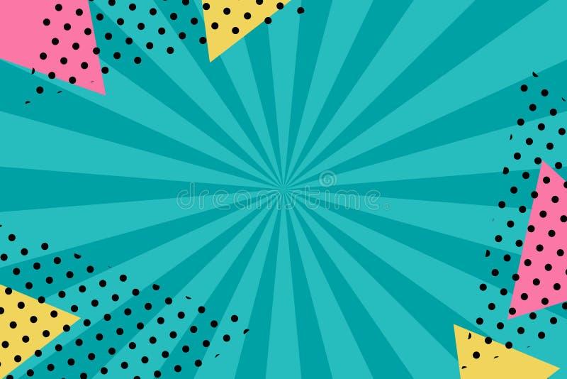 Bakgrund i retro stil f?r design Gammal effekt vektor illustrationer