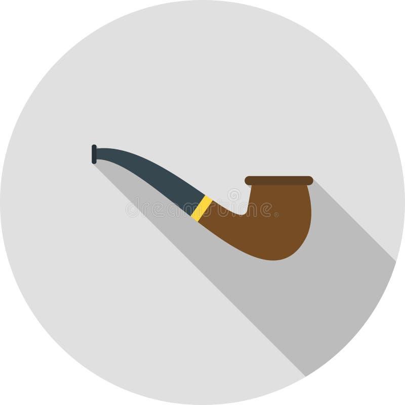 bakgrund isolerad rökande white för rør royaltyfri illustrationer