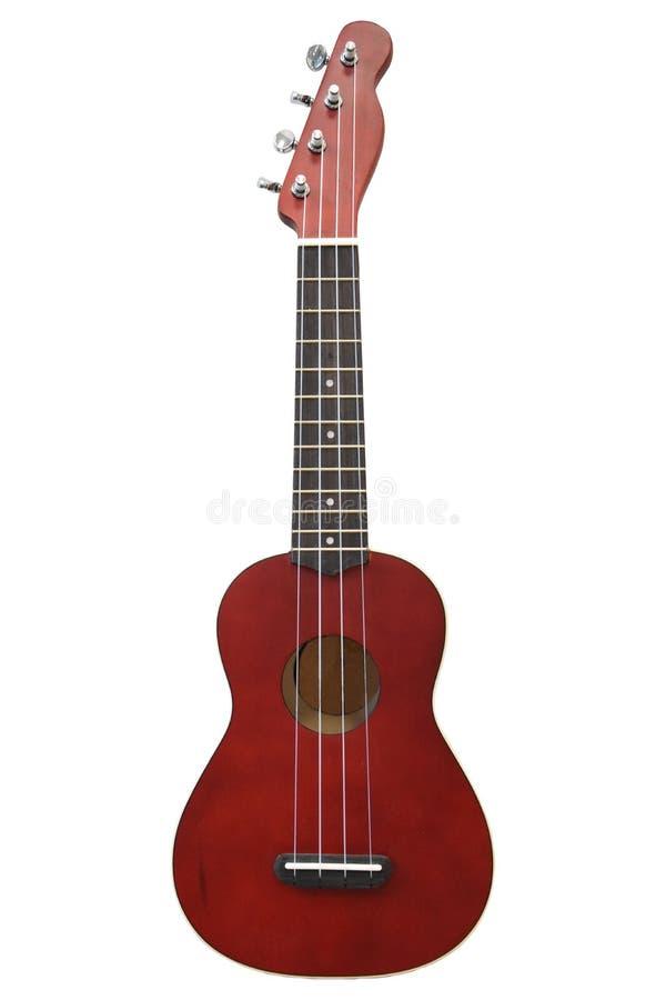 bakgrund isolerad ukulelewhite royaltyfria foton