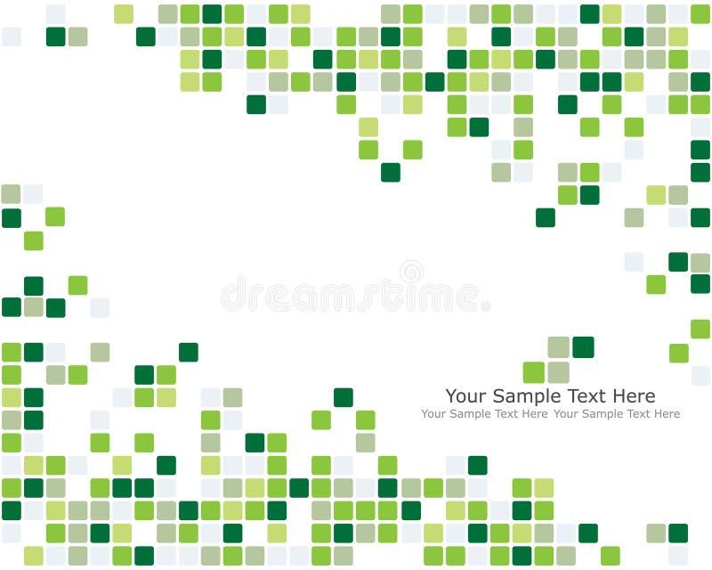 bakgrund kontrollerad green stock illustrationer