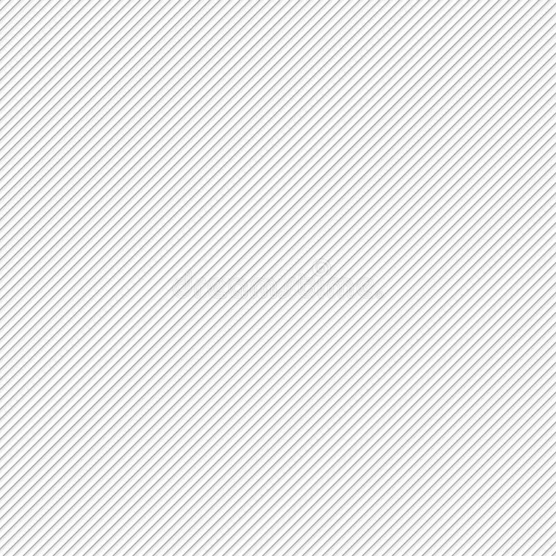 Bakgrund med diagonala gråa linjer, vektorillustration royaltyfri illustrationer