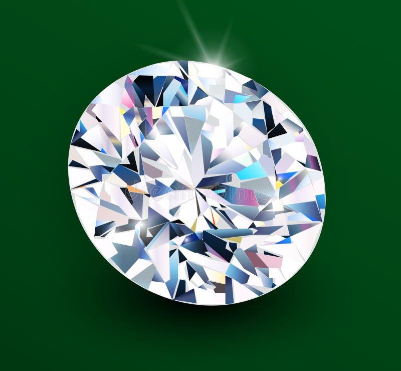 Bakgrund med diamanten stock illustrationer