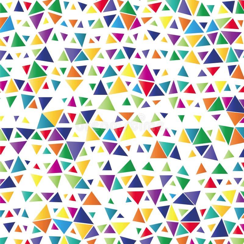 Download Bakgrund Med Kulöra Trianglar Vektor Illustrationer - Illustration av avstånd, illustration: 78730310