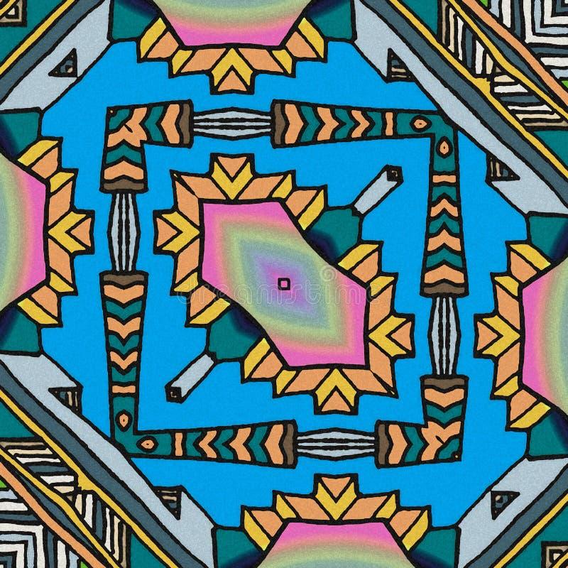 Bakgrund med ljusa färger royaltyfri illustrationer