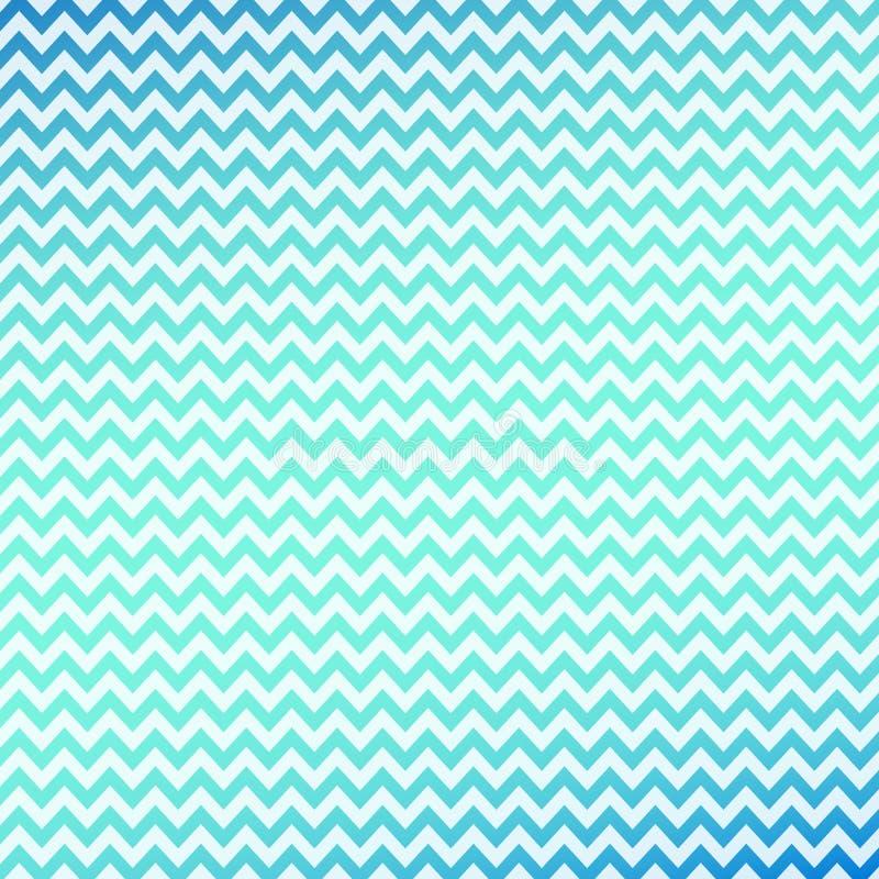Bakgrund med lutningblått-gräsplan vågor royaltyfri illustrationer