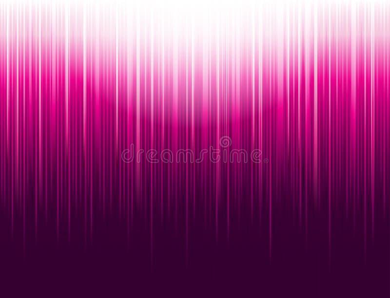 Bakgrund med rosa glödande randiga linjer teknologi Abstrakt rosa bakgrund med vertikala linjer R?kningsdesignmall f?r vektor illustrationer