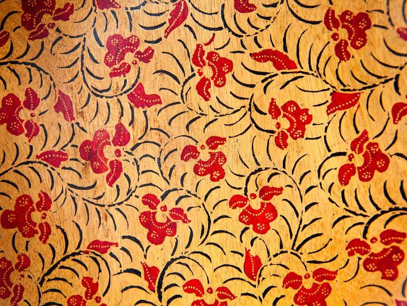 Bakgrund med texturerade blom- prydnader arkivfoton