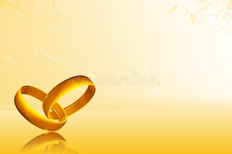 bakgrund ringer bröllop royaltyfri foto