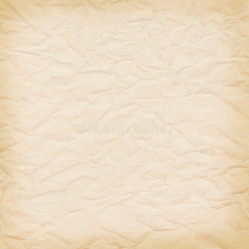 bakgrund skrynklig fin paper yellow royaltyfri illustrationer