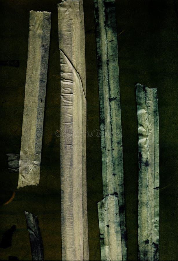 bakgrund som maskerar det texturerade befläckte bandet royaltyfri bild