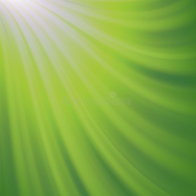 bakgrund suddighet green Abstrakt glödande modell vektor illustrationer