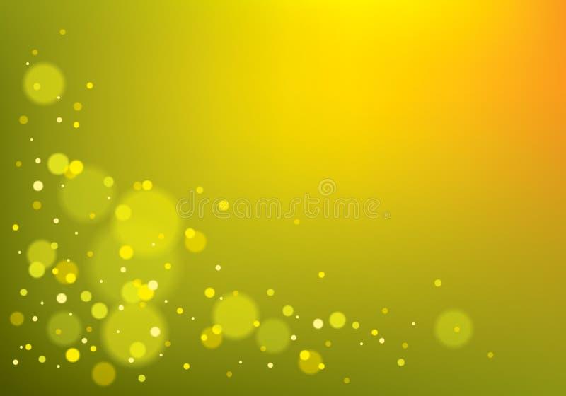 bakgrund suddigheta lampor Bokeh effekttextur Härlig vecto vektor illustrationer