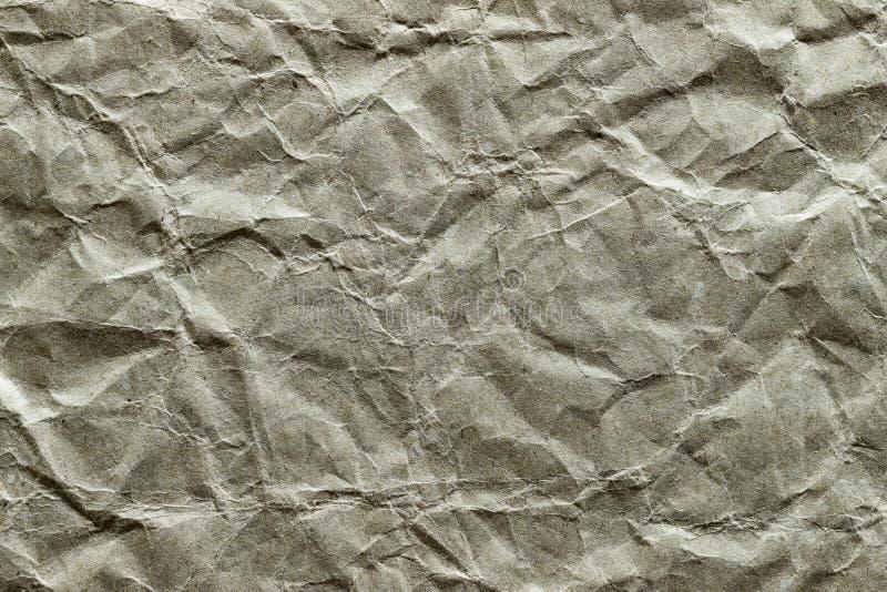 Bakgrund textur, grunge, skrynkligt inpackningspapper 2 royaltyfri bild