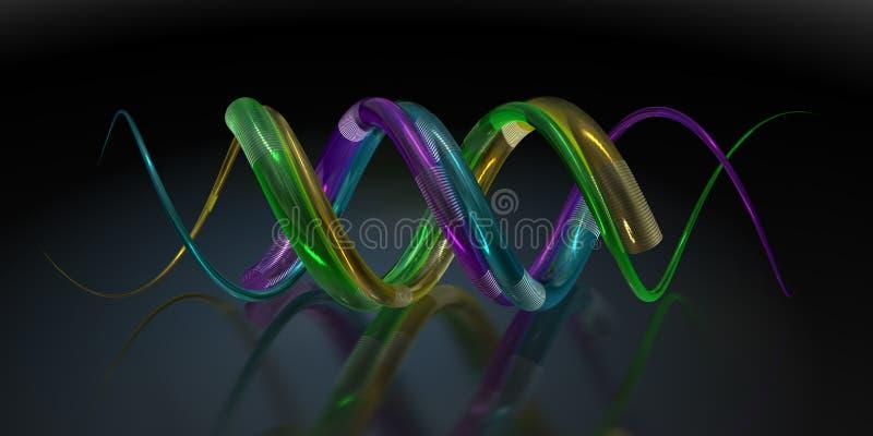 bakgrund vävd samman spiral vektor illustrationer