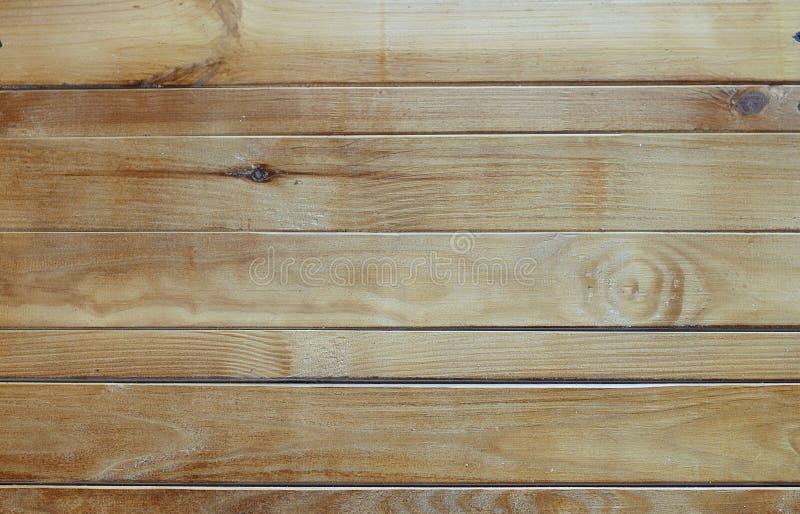 Bakgrunden är brun färg för naturligt trä arkivbilder