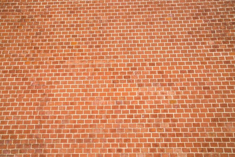 Bakgrunden av väggen av bakgrundstexturer för röd tegelsten för grafisk design royaltyfri bild