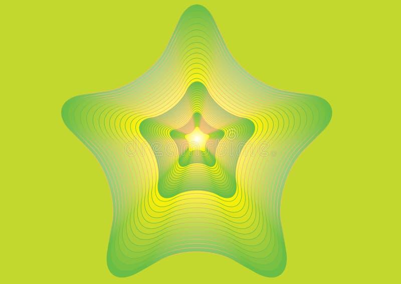 Bakgrunden med stjärnan royaltyfri illustrationer