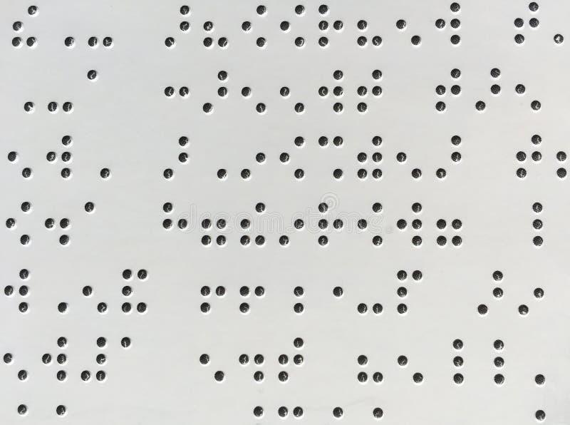 Bakgrunder och texturer för bstract för blindskriftkodbakgrund arkivfoto