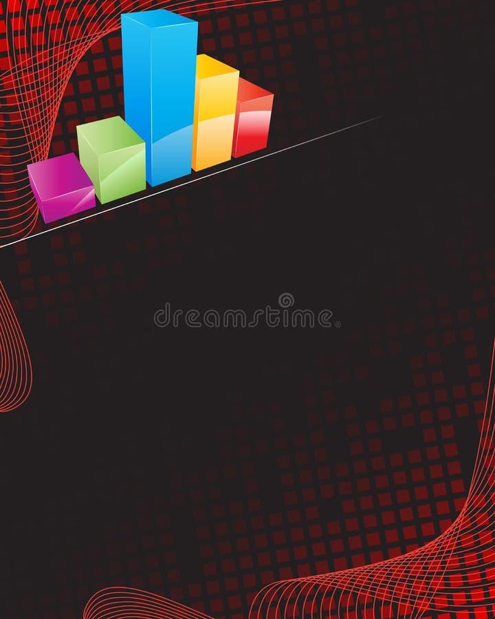 bakgrundsaffär stock illustrationer