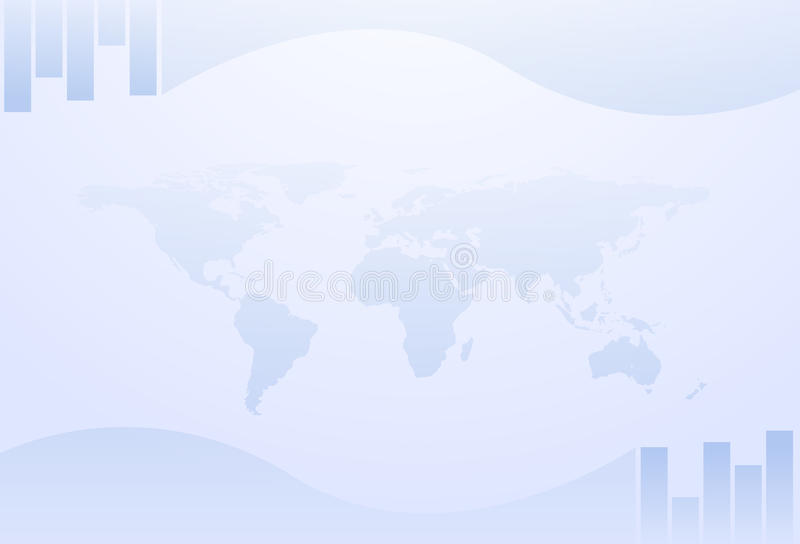 bakgrundsaffärsgräns royaltyfri illustrationer
