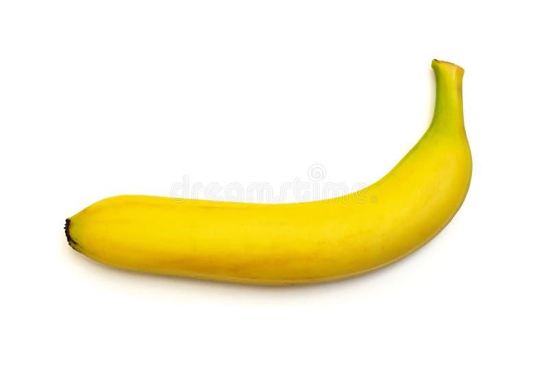 bakgrundsbananen som f?ster den l?tta mappen ihop, inkluderar banan som ?r mogen till vitt arbete Top besk?dar royaltyfri bild