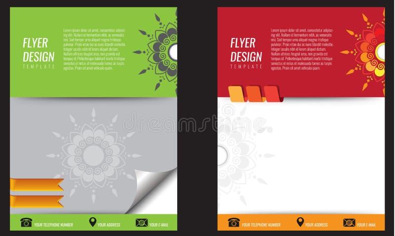 Bakgrundsbegreppsdesign för broschyren eller reklambladet, abstrakt begrepp stock illustrationer