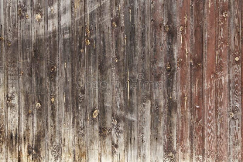 Bakgrundsbild som göras av gamla wood bräden arkivfoton
