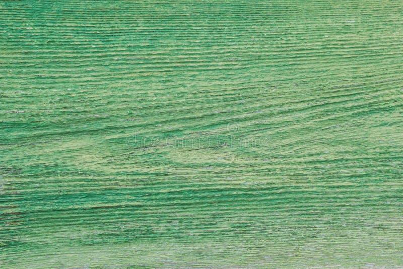 Bakgrundsbilden av det gamla gröna träbrädet textur fotografering för bildbyråer