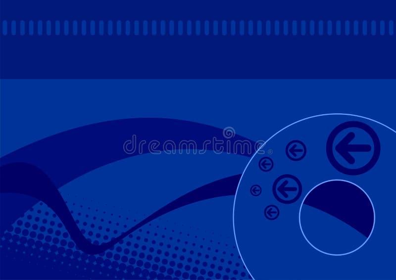 bakgrundsblue vektor illustrationer