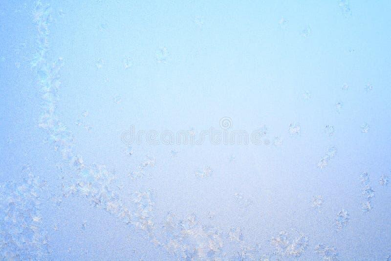 bakgrundsbluefrost arkivfoton