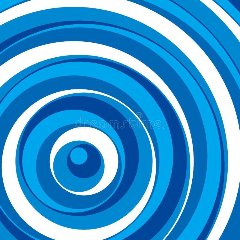 bakgrundsbluen cirklar vektorn stock illustrationer