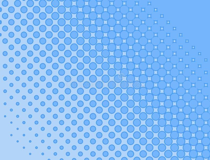 bakgrundsblueraster vektor illustrationer