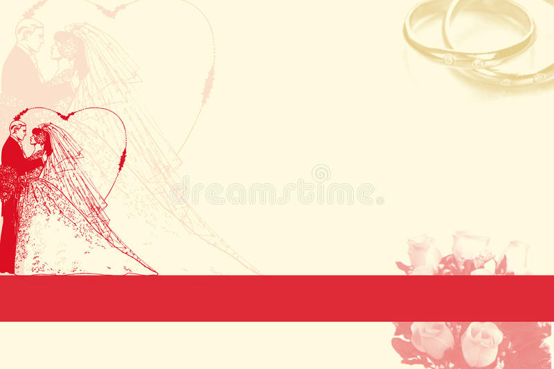 bakgrundsbröllop vektor illustrationer