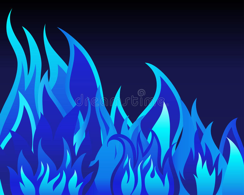 bakgrundsbrand royaltyfri illustrationer