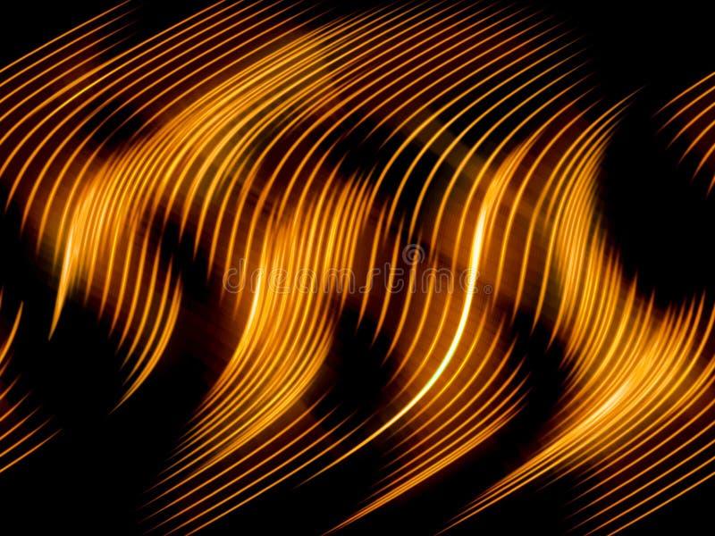bakgrundsbrand flamm textur royaltyfri illustrationer